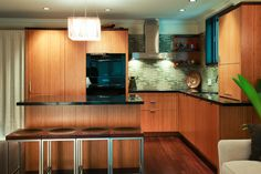 Small kitchen Designs with islands by Berkeley Mills