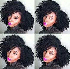 {Grow Lust Worthy Hair FASTER Naturally}        ========================== Go To:   www.HairTriggerr.com ==========================    That Is a FIERCE Curly Fro!