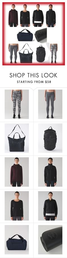 """""""Black Mirror..."""" by cate-jennifer ❤ liked on Polyvore featuring lululemon and vintage"""