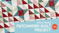 Do you love the intricate designs of patchwork quilt projects, but fear mismatched points? Then you're in luck with Angela Walters' smart tips to make your p...