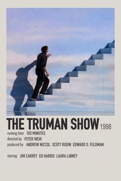 The Truman Show polaroid movie poster