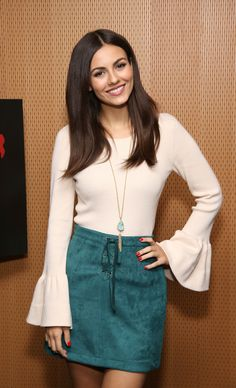 "( ☞ 2017 ★ HOT CELEBRITY WOMAN  ★ VICTORIA JUSTICE...IN A MINISKIRT "" Pop ♫ "" ) ★ ♪♫♪♪ Victoria Dawn Justice - Friday, February 19, 1993 - 5' 5½"" 117 lbs 34-23-32 - Hollywood, Florida, USA."