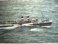Paddle Steamer Waverley sails from Redbay N. Ireland along the Antrim coast Titanic Poster, Steam Boats, Ferry Boat, Paddle Boat, Tug Boats, Boat Rental, Boat Tours, Water Crafts, Great Britain