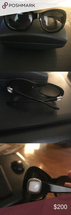 💯Authentic David Yurman David Yurman sunglasses in amazing condition very rare find .💯UAV and UA protection and polorized lenses. David Yurman Accessories Glasses