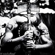 """DA SÉRIE CULTOS E MITOS AFRICANOS ORÍXÁS - XANGÔ """"Deus do Trovão, do Raio, ou seja, do fogo celeste. Dentro do sincretismo, passou a ser assimilado a S. Jerônimo"""" (w.w. da Mata e Silva). Da pasta Tradições, Mitologias, Ícones, Holismo"""
