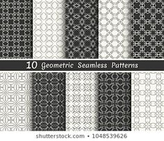 Similar Images, Stock Photos & Vectors of Triangle geometric vector pattern,pattern fills, web page, background, surface and textures - 708272218 | Shutterstock Geometric Patterns, Geometric Tattoo Pattern, Vektor Muster, Banners, Line Background, Black And White Lines, Stock Foto, Vector Pattern, Wallpaper