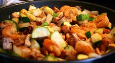 Hibachi Chicken and Shrimp | The Frugal Girl