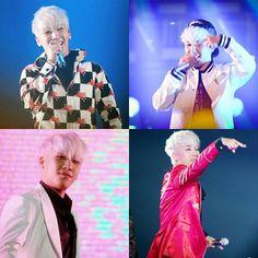 "[ PHOTOS ] [ JUST FOR FUN ] . ■ Seungri @seungriseyo "" I stole the look this time, BIGBANG fans please forgive me "" . ■ Okayy Panda   . #BIGBANG #seungRi #Todae #YGFAMILY #YGENT #FromYG #KPOP #ygentertainment #fashion #FASHIONISTA #BLONDE #MADE #STARTINGTHISAPRIL #BAEBAE #RIPCHARLIE . ."