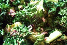 Sweet Spicy Coconut Kale | VegWeb.com, The World's Largest Collection of Vegetarian Recipes