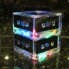 Goodwill tapes, glowsticks inside? Can make a good centerpiece
