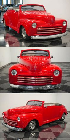 1947 Ford Deluxe Streetrod Custom [terrific modifications] Custom Cars For Sale, Pinstriping, Street Rods, Tail Light, Automatic Transmission, Crates, Door Handles, Ford, Comic Strips
