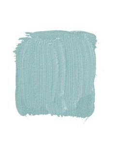 """SHERWIN-WILLIAMS/DURON, COLORS OF HISTORIC CHARLESTON VERDITER BLUE DCR078 NRH: """"This is an intense 18th-century blue-green with a great history. They used to make it by pouring acids on copper and using the verdigris as the pigment for the paint. A living room would be killer with this on the walls, dead-white trim, and mahogany or black-painted furniture."""" -Ralph Harvard by Piper Jane"""