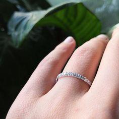 Half Eternity Ring, Eternity Bands, Diamond Wedding Bands, Wedding Rings, Diamond Clarity, Natural Diamonds, Handmade Jewelry, Silver Rings, White Gold