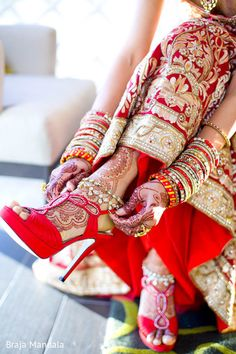 henna and heels : Braja Mandala Wedding Photography