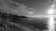 La Jolla sunset. #california #lajolla #sandiego #sunset #sea #photo #photography #exposure #contrast #light #texture #sky #sony #sonya6300 #vsco #vscocam #blackandwhite #lajollalocals #sandiegoconnection #sdlocals - posted by Manel R. Aguilar  https://www.instagram.com/aguilarmanel. See more post on La Jolla at http://LaJollaLocals.com