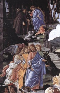 Sandro Botticelli, Frescoes in the Sistine Chapel   Podere Santa Pia, Holiday house in the south of Tuscany