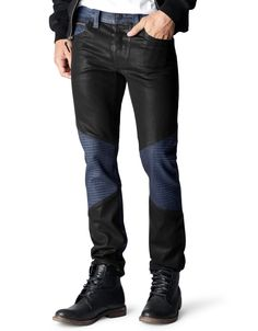 ROCCO STRAIGHT LEG COMFORT SLIM FIT TWO TONE DENIM - True Religion