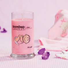 Its a Girl Ring Candle