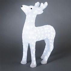 Konstsmide 6121-203 Acrylic LED Reindeer Christmas Figure