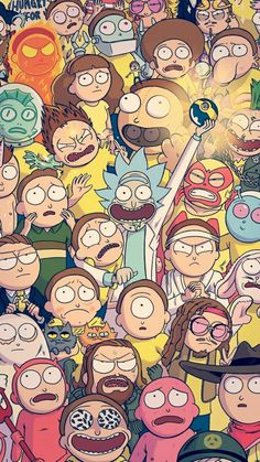 Hd Wallpaper Rick And Morty Cartoon Iphone Rick Morty intended for Rick and Morty Cartoon Wallpaper - Find your Favorite Wallpapers! Cartoon Wallpaper, Sf Wallpaper, Wallpaper Spongebob, Screen Wallpaper, Rick And Morty Poster, Ricky And Morty, Graffiti, Nerd, Geek Stuff