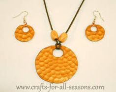 polymer clay necklases - Google Search