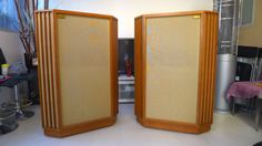 Tannoy-Autograph-Box-Tannoy-12-Vintage-Red-Monitor-speaker-Reproduce-Japan