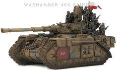 Macharius heavy armor