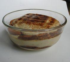 Tiramisu s amasaké Tiramisu, Agar, Pudding, Desserts, Food, Tailgate Desserts, Postres, Deserts, Essen