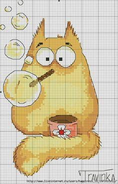 Смешные коты (схемки для вышивания) - Babyblog.ru