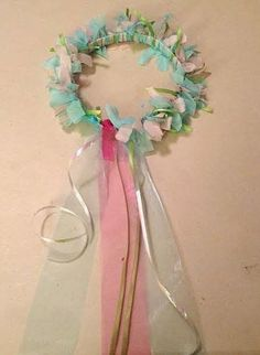 How to make a princess headpiece or fairy halo! DIY for all ages.