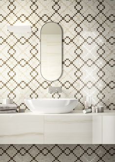 #Elegance | #Marazzi | #bathroom | #decoration | #ceramics | #walltiles | #marbleeffect