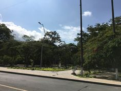 Parque Simón Bolívar. Recientemente remodelado.