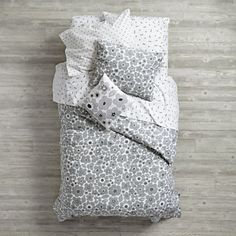 Shop Go Lightly Floral Kids Duvet Cover (Grey). Our Go Lightly Kids Duvet Cover (Grey) features a mix of patterns & colors, and can be mixed and matched to create your own one-of-a-kind bedding set. Floral Bedding, Grey Bedding, Linen Bedding, Bed Linens, Kids Sheet Sets, Kids Sheets, Luxury Bedding Collections, Luxury Bedding Sets, Holly Willoughby Bedding