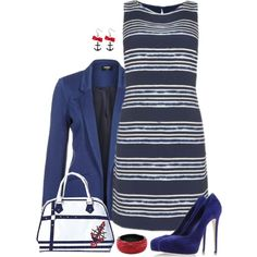 """Nautical"" by bluebells75 on Polyvore"
