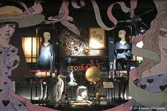 伊勢丹 新宿店本館 2014年9月 ショーウインドー2 Isetan Shinjuku Tokyo
