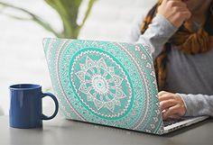 Cover MacBook Air 13 Costodia Rosa , iCasso Medallion Pattern Ultra Sottile Plastica Rigida Shell Snap On Duro Case per MacBook Air 13 pollici (Modelli: A1369 / A1466): Amazon.it: Elettronica