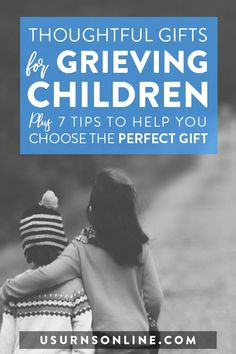 Here are 10 Thoughtful Gifts for Grieving Children, plus seven compassionate tips to help you choose the right bereavement/memorial gift for the little ones you care about. #grief #grievingchildren #sympathygifts #memorialgifts Grieving Gifts, Grieving Friend, Sympathy Gift Baskets, Sympathy Gifts, Funeral Memorial, Memorial Gifts, Funeral Gifts, Losing A Loved One, Gift Of Time