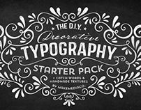 #Decorative #Typography Pack by MakeMediaCo.