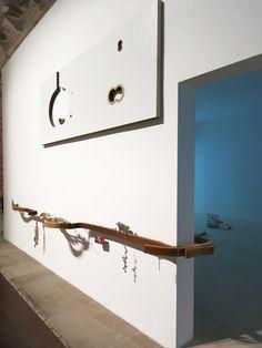 Venice: Helen Marten at The Arsenale Modern Art, Contemporary Art, Venice Biennale, Installation Art, Art Installations, Sculptures, Wall Decor, Ceiling Lights, Artwork
