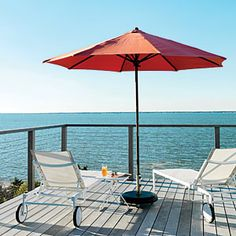 Outside Influence - Fire Island Beach House - Coastal Living Island Deck, Fire Island, Coastal Style, Coastal Living, Country Living, Outdoor Spaces, Outdoor Living, Outdoor Decor, Waves On The Beach