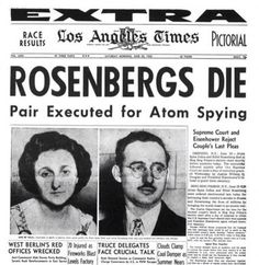 On June 19, 1953 Ethel & Julius Rosenberg Were Executed For Espionage