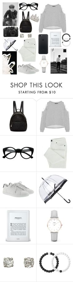 """Back in November"" by lillian-rose-31 ❤ liked on Polyvore featuring STELLA McCARTNEY, W118 by Walter Baker, Retrò, Yves Saint Laurent, Fulton, CLUSE, Lokai and Garrard"