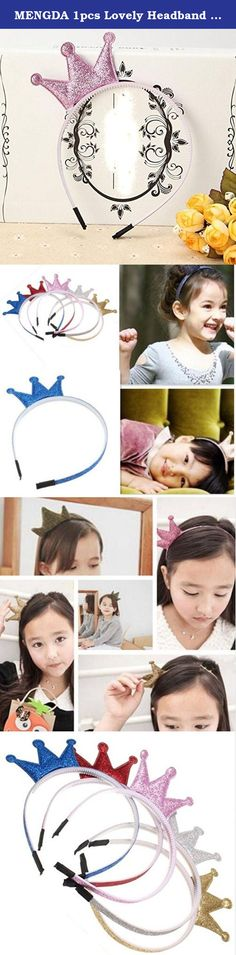 MENGDA 1pcs Lovely Headband Shiny Crown Headwear Children Baby Beauty Hair Accessories For Girls Candy Color (Pink). Color: gold\blue\silver\pink\red Elegant design that is suited for wedding hair accessories as well Perfect for gala, parties, work and even weddings! Our store has a lot of products similar to this style of accessories. We are a good store,so we offer the best pruduct by a reasonable price in order to improve our reputation not just for profit. Ship via USPS with tracking...