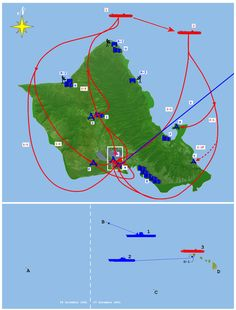 Pearlmap1. This Day in History: Dec 7, 1941: Pearl Harbor bombed  http://dingeengoete.blogspot.com/