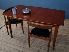 Midcentury dining table designed by John Herbert for A Younger Ltd Dining Table Design, Mid Century Furniture, Teak, Retro Vintage, Home Decor, Decoration Home, Room Decor, Interior Decorating