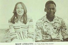 The young GOAT in a yearbook in Wilmington, North Carolina.