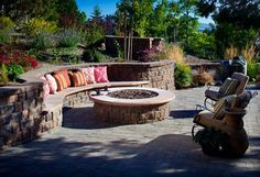 Fireplaces - traditional - firepits - charlotte - Blue Max Materials