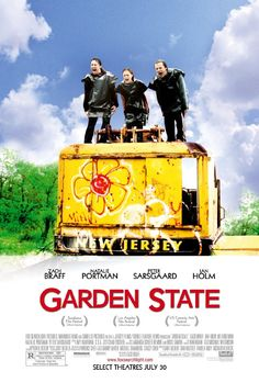 "Garden State - Andrew Largeman is a semi-successful television actor who plays a retarded quarterback. His somewhat controlling psychiatrist father has led Andrew (""Large"") to believe that his mother's wheelchair bound life was his fault. Andrew decides to lay off the drugs his father & his doctor made him believe he needed, and began to see life for what it is. He began to feel the pain he had longed for, and began to have a genuine relationship with a girl who had some problems of her own."