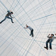 A Massive Inflatable String Jungle Gym by Numen/For Use | Funniez.com