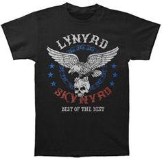 Lynyrd Skynyrd Best Of The Best Men's T-shirt, Black (2X)